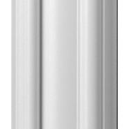 Plain White Dado 57mm by 2.9 metre