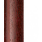 Plain Mahogany Quadrant 19mm by 2 metre