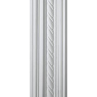 Rope White Cornice 100mm by 2 metre