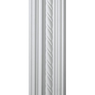 Rope White Cornice 100mm by 2.9 metre