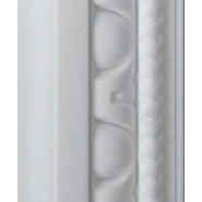 Egg and Dart White Dado 68mm by 2.9 metre