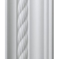 Rope White Cornice 70mm by 2 metre