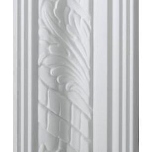 Leaf White Cornice 85mm by 2.9 metre