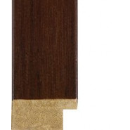 Dark Brown Picture Moulding 30mm