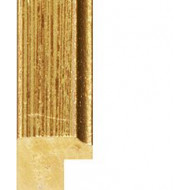 Distressed Gold Picture Moulding 15mm