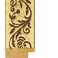 Gold with Black highlights Picture Moulding 30mm