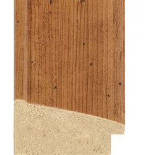 Antique Pine with worm holes effect Picture Moulding 50mm