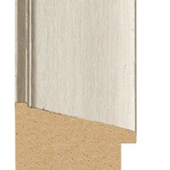 Silver wash Picture Moulding 50mm