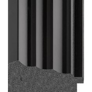 Black gloss Picture Moulding 81mm