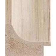 Textured Cream Picture Moulding 47mm