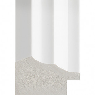 White Gloss Picture Moulding