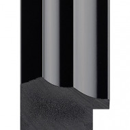 Black Gloss Picture Moulding