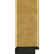 Marbled Gold, Gold outer edges Picture Moulding 51mm